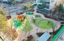 [어린이놀이시설 탄성포장재] 천천어린이공원 리모델링 공사